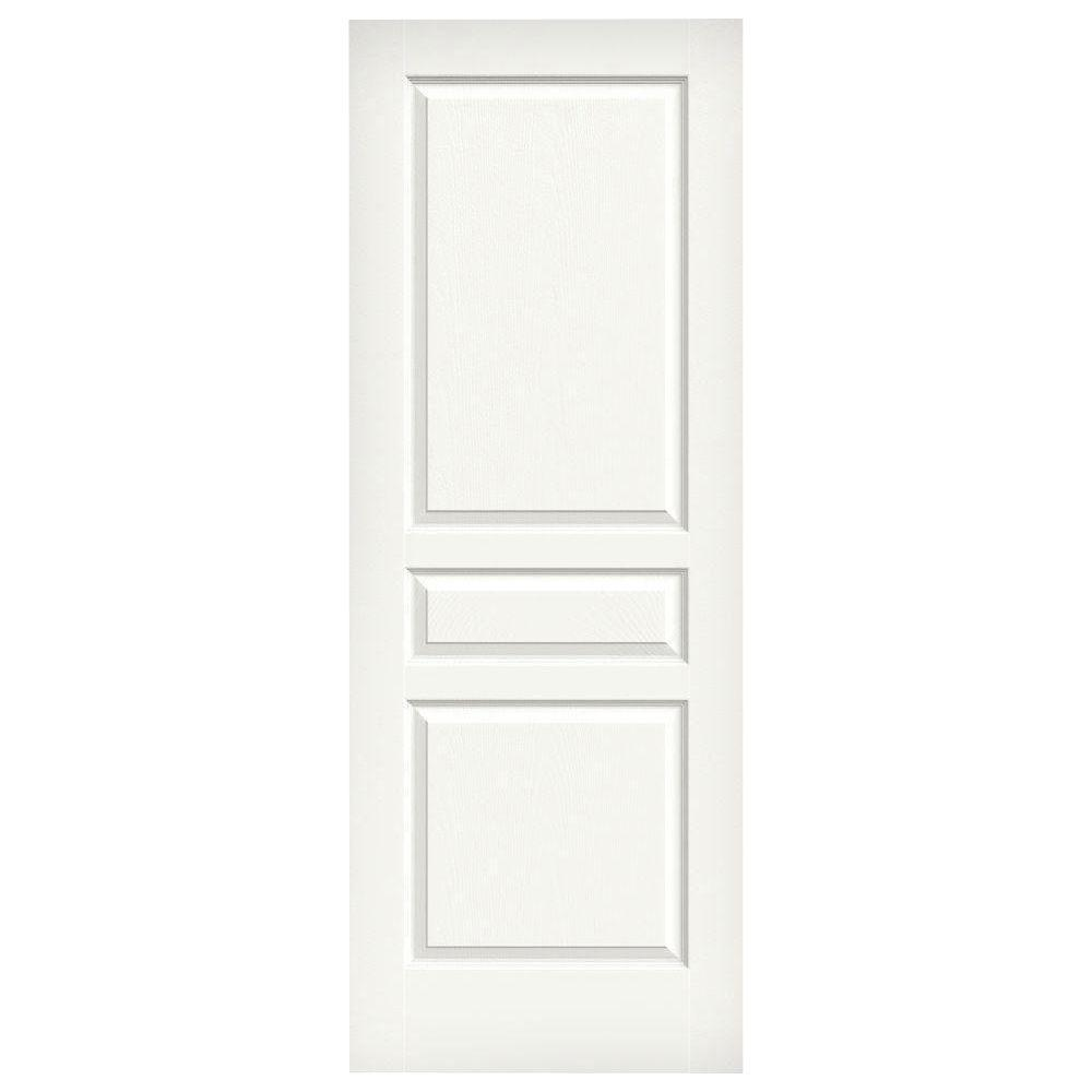 Jeld Wen 30 In X 80 In Woodgrain 2 Panel Full Louver: Interior & Closet Doors