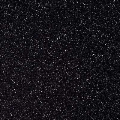 Solid Surface Countertop Sample In Deep Black Quartz