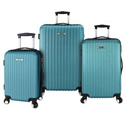 3-Piece Lightweight Luggage Set, Teal