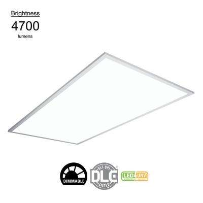 2 ft. x 4 ft. White Integrated LED Flat Panel Troffer Light Fixture at 4700 Lumens, 4000K Cool White