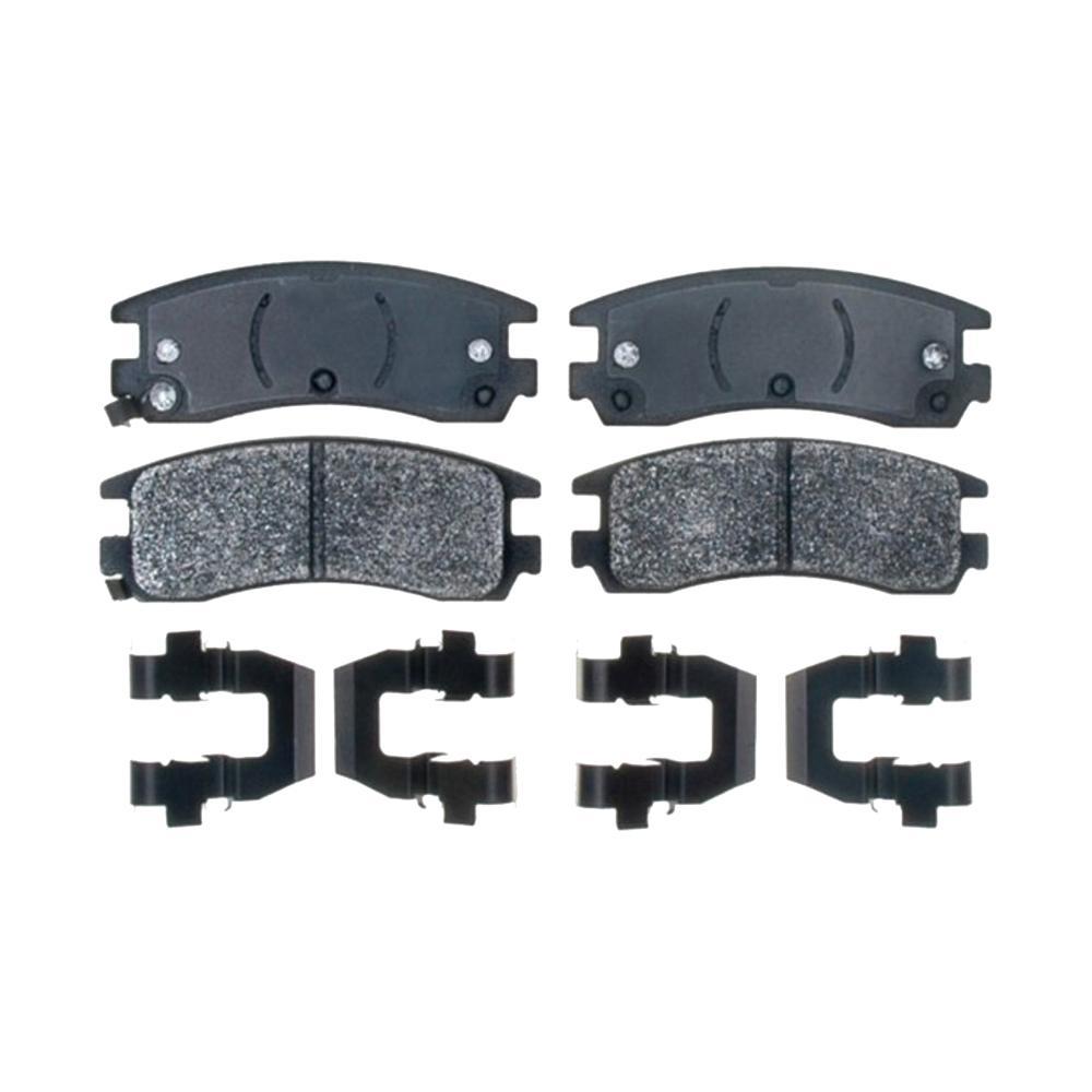 ACDelco Semi Metallic Disc Brake Pad - Rear