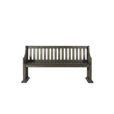 Stanford Dark Ash Pew Bench