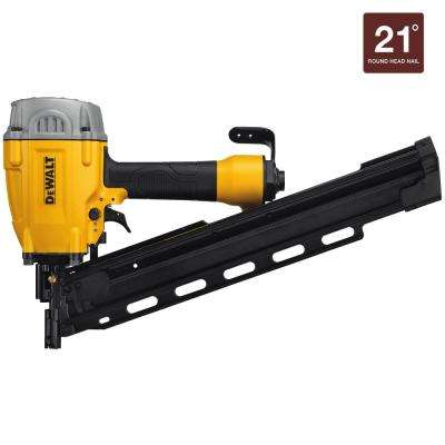 Pneumatic 21-Degree Collated Framing Nailer