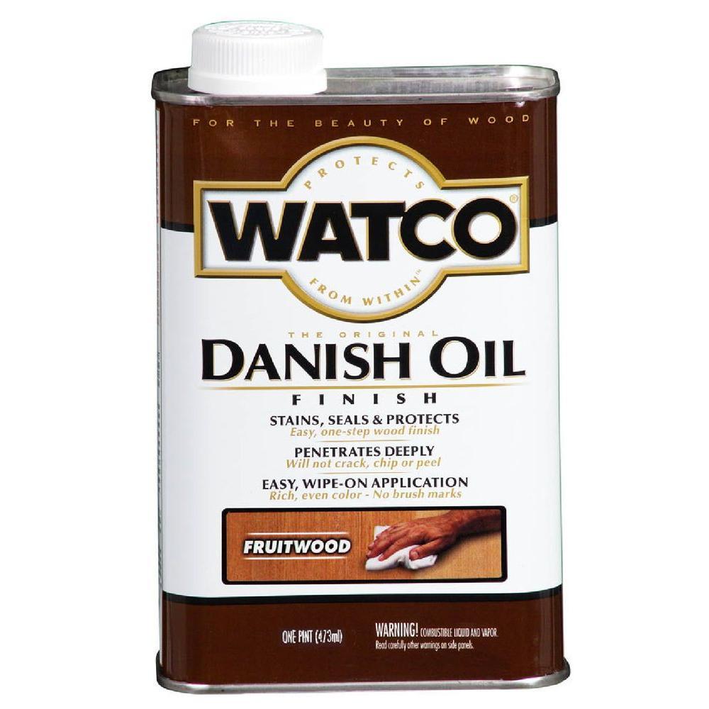 1 pt. Fruitwood Danish Oil (Case of 4)