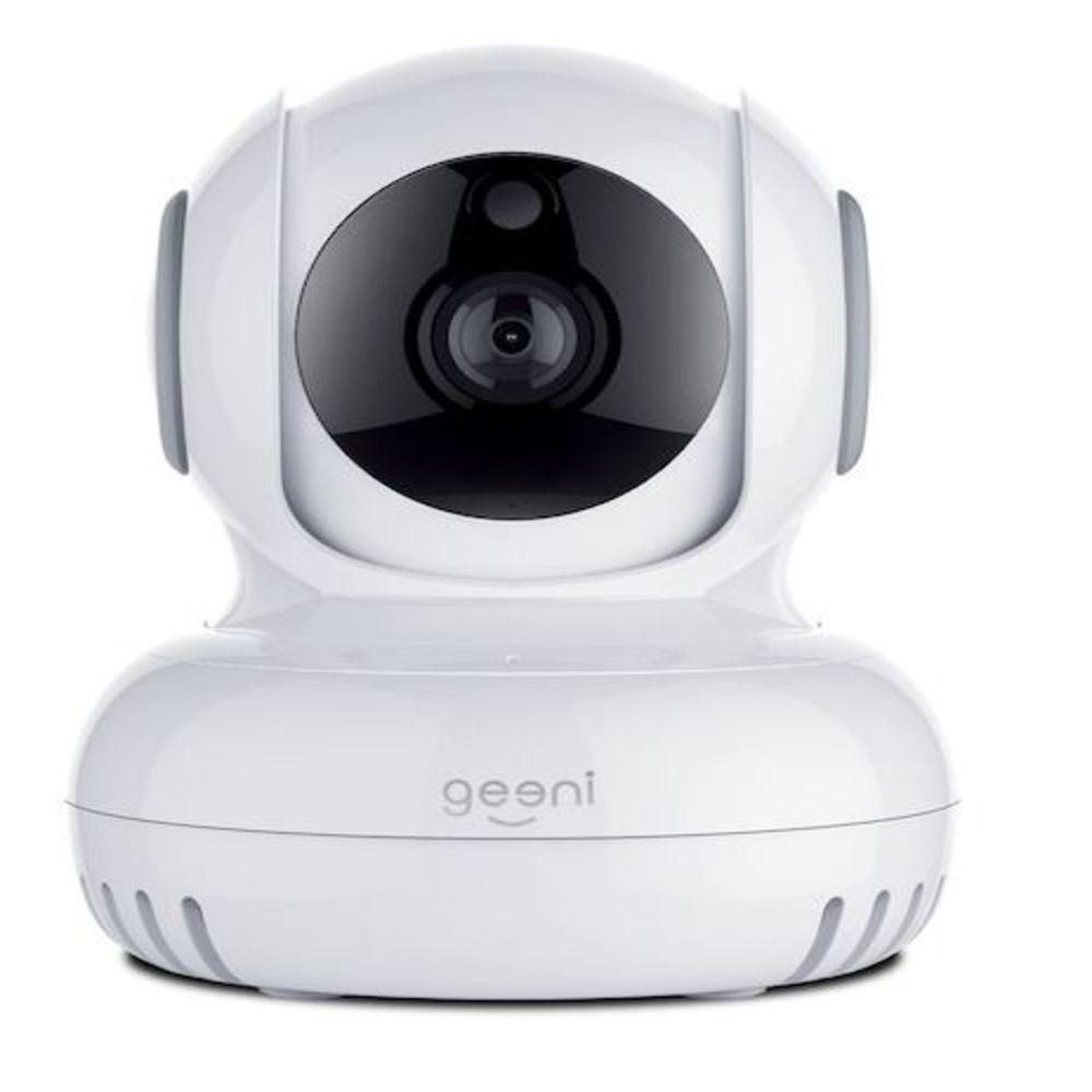 Sentinel 720p Pan and Tilt 2-Way Talk Motion Detection Indoor Mini Wi-Fi Standard Surveillance Camera White