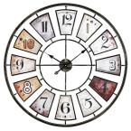 Morgan Gray Large Wall Clock
