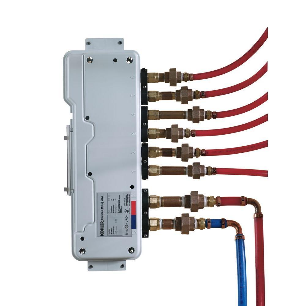 KOHLER DTV 6-Port Thermostatic Valve-K-682-K-NA - The Home Depot