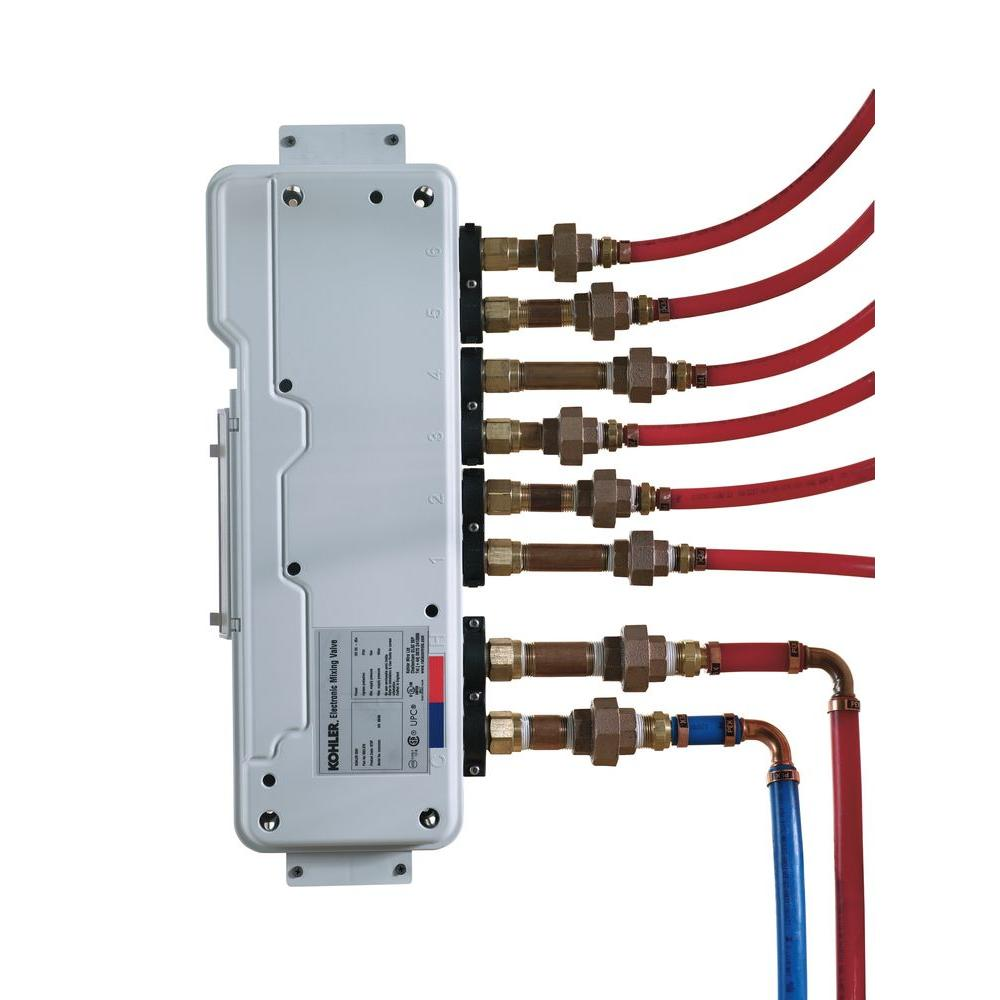 null DTV 6-Port Thermostatic Valve