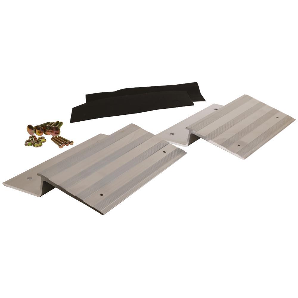 Cargosmart 12 in aluminum ramp plate kit box of 2 3006 the home aluminum ramp plate kit box of 2 solutioingenieria Choice Image