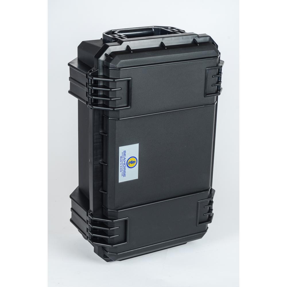 13.9 in. Watertight Tool Case in Black