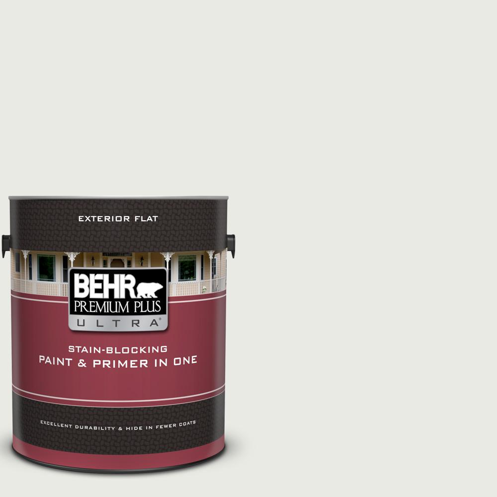 Ul260 15 Gallery White Flat Exterior Paint And Primer In One