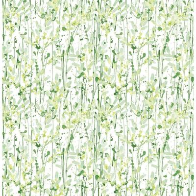 Willow Green Leaves Wallpaper