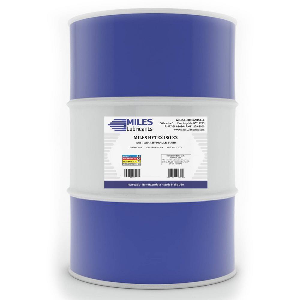Hytex 55 Gal. ISO 32 Anti-Wear Hydraulic Fluid Drum