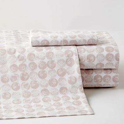 Blake Dot 200-Thread Count Cotton Percale Sheet Set