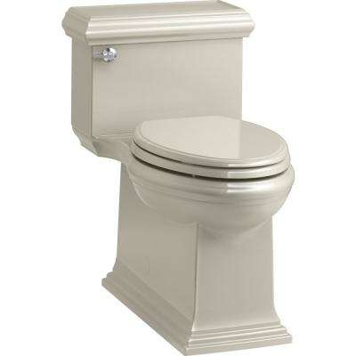 Memoirs Classic 1-Piece 1.28 GPF Single Flush Elongated Toilet in Sandbar, Seat Included