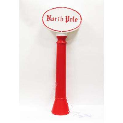 45 in. North Pole with light