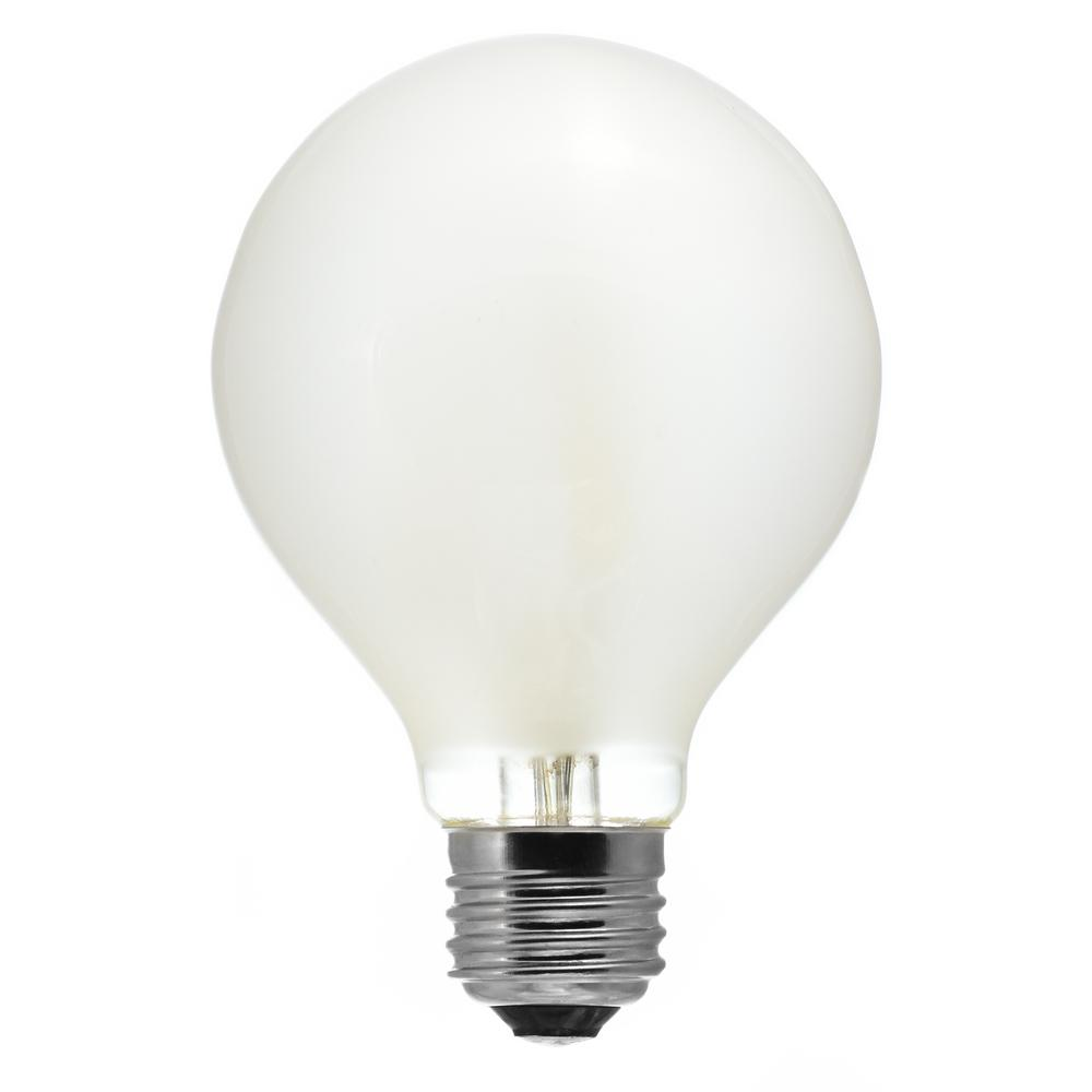 40-Watt Equivalent G25 Medium Base Dimmable Frosted LED ...