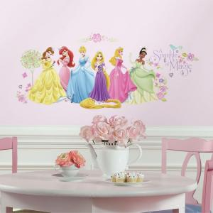 5 in. W x 11.5 in. H Disney Princess - Glow Within Princess 36-Piece Wall Decal