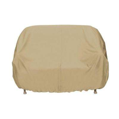 Patio Loveseat Cover in Khaki