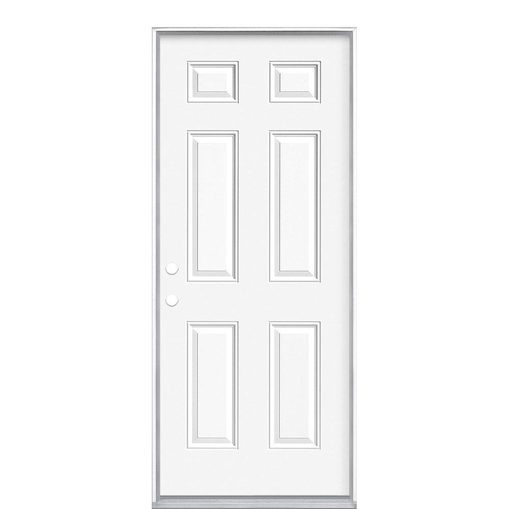 Exterior Doors For Mobile Homes: Masonite 32 In. X 74 In. Mobile Home Right-Hand Inswing