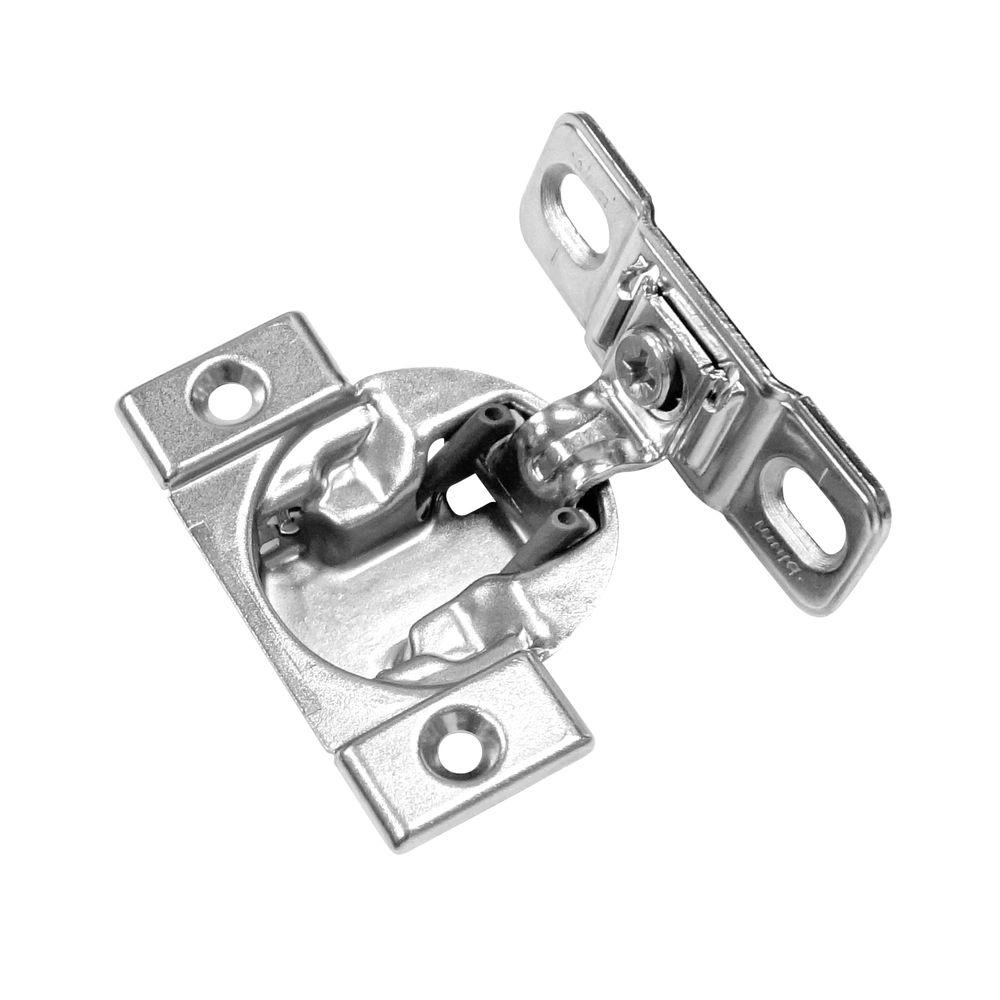 kitchen cabinet hinges home depot richelieu hardware mount frame 1 3 8 in overlay blum 18924