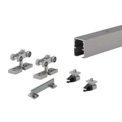 60 in. TopLine Grant Single Door Hardware and Track