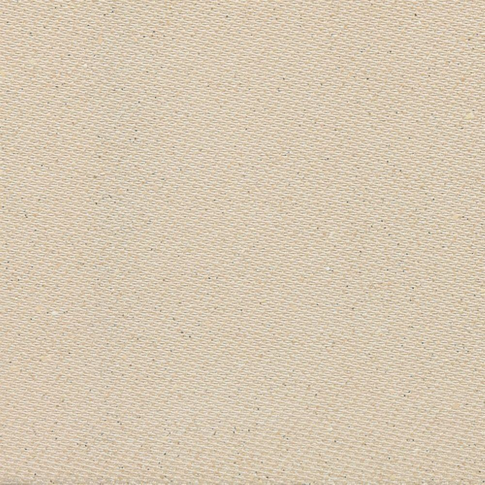 Daltile Identity Bistro Cream Fabric 18 in. x 18 in. Porcelain Floor and Wall Tile (13.07 sq. ft. / case)