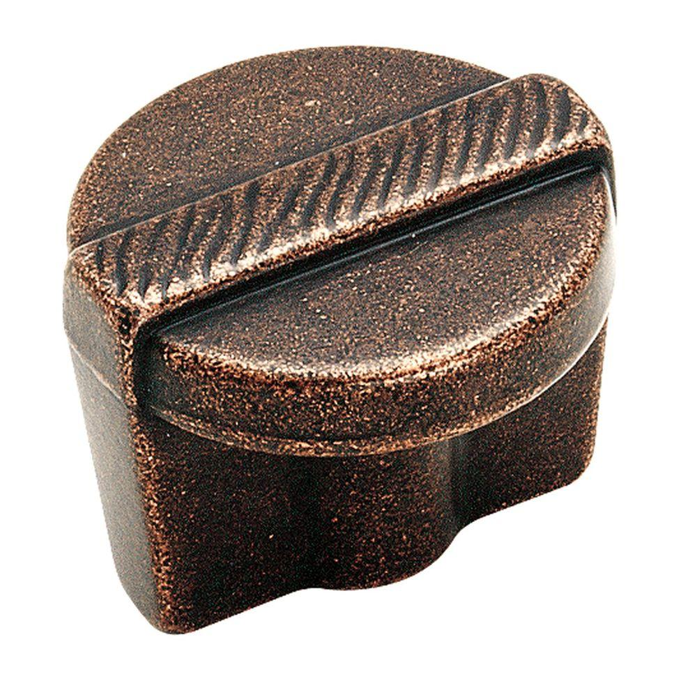 Forgings 1-1/4 in. Oil Rubbed Bronze Cabinet Knob