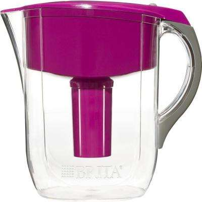 10-Cup Filtered Water Pitcher in Violet