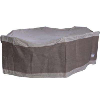 Rectangle Patio Table with Chairs Cover. Patio Furniture Covers   Patio Accessories   The Home Depot