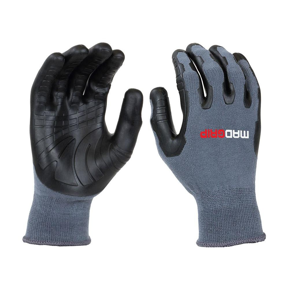 Pro Palm Utility Large Grey/Black Glove