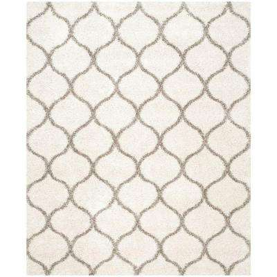 Hudson Ivory Gray 10 Ft X 14 Area Rug