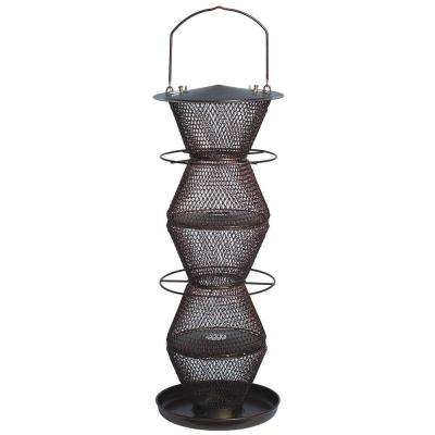 5-Tier Bronze Wild Bird Feeder