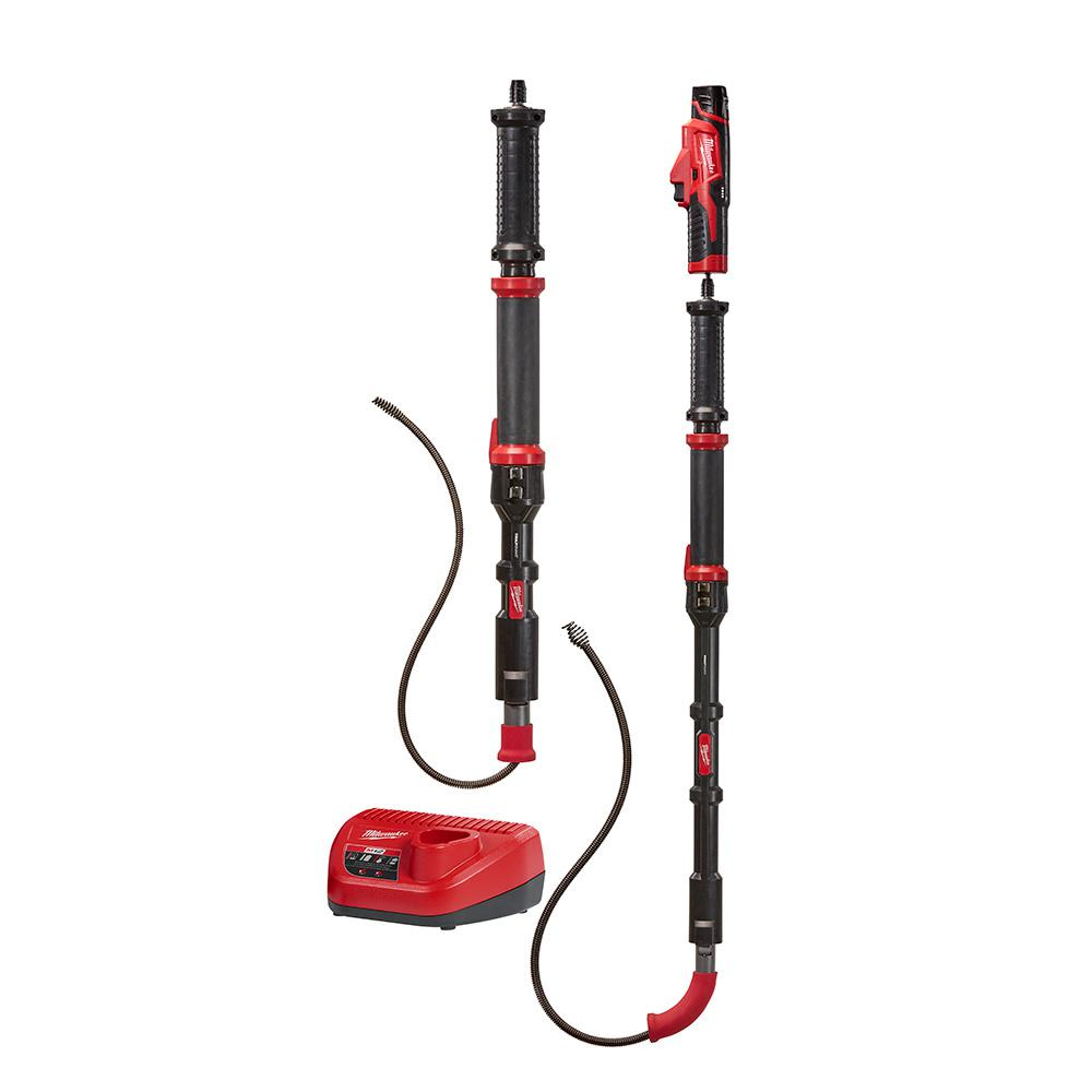 M12 Trap Snake 12-Volt Lithium-Ion Cordless 4ft. and 6 ft. Auger