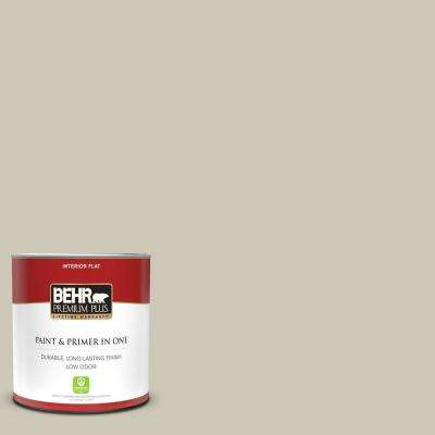 1 qt. #PPU8-16 Coliseum Marble Flat Low Odor Interior Paint and Primer in One