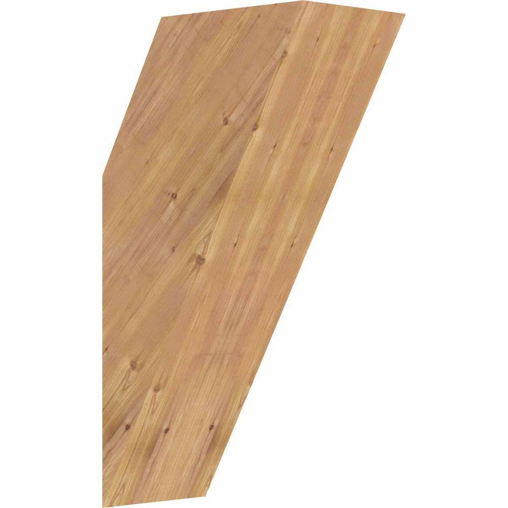 5.5 in. x 18 in. x 10 in. Western Red Cedar