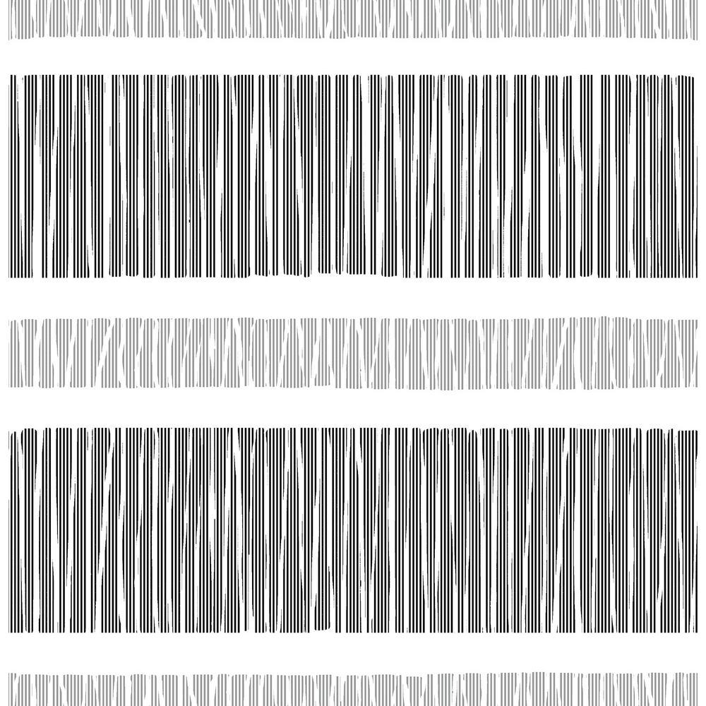 Amaryllis, Gravity Black Stripe Wallpaper