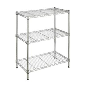 3-Shelf 23.3 in. W x 13.3 in L x 30.3 in H Storage Unit.
