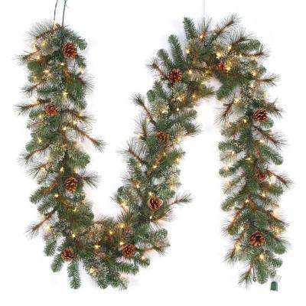 Christmas Garland - Christmas Wreaths & Garland - The Home Depot