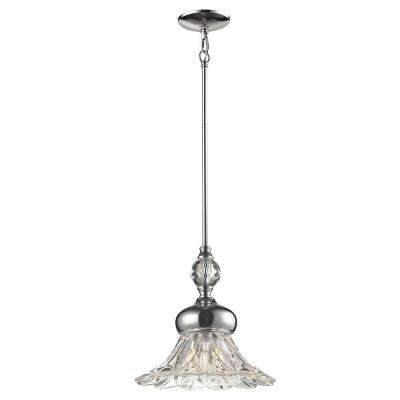 Ovation 1-Light Polished Chrome Pendant
