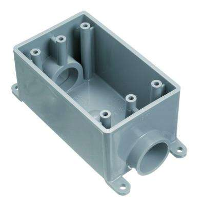 3/4 in. 1-Gang PVC FS Box (12 per Case)