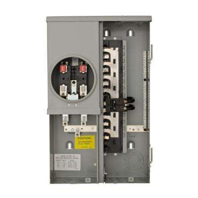 125 Amp 12-Space 24-Circuit Overhead/Underground Surface Meter Combo Load Center