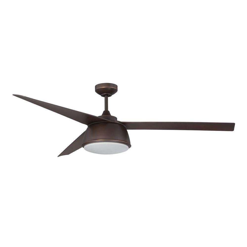Nebulon 60 in. Architectural Bronze Ceiling Fan