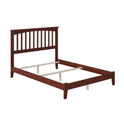 Mission Walnut Full Traditional Bed