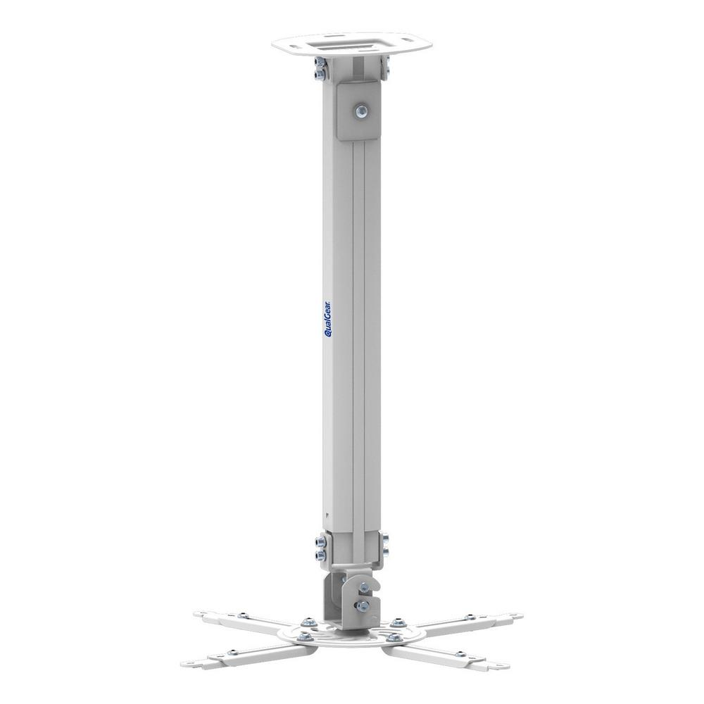 QualGear Projector Ceiling Mount with Adjustable Extension Column ...