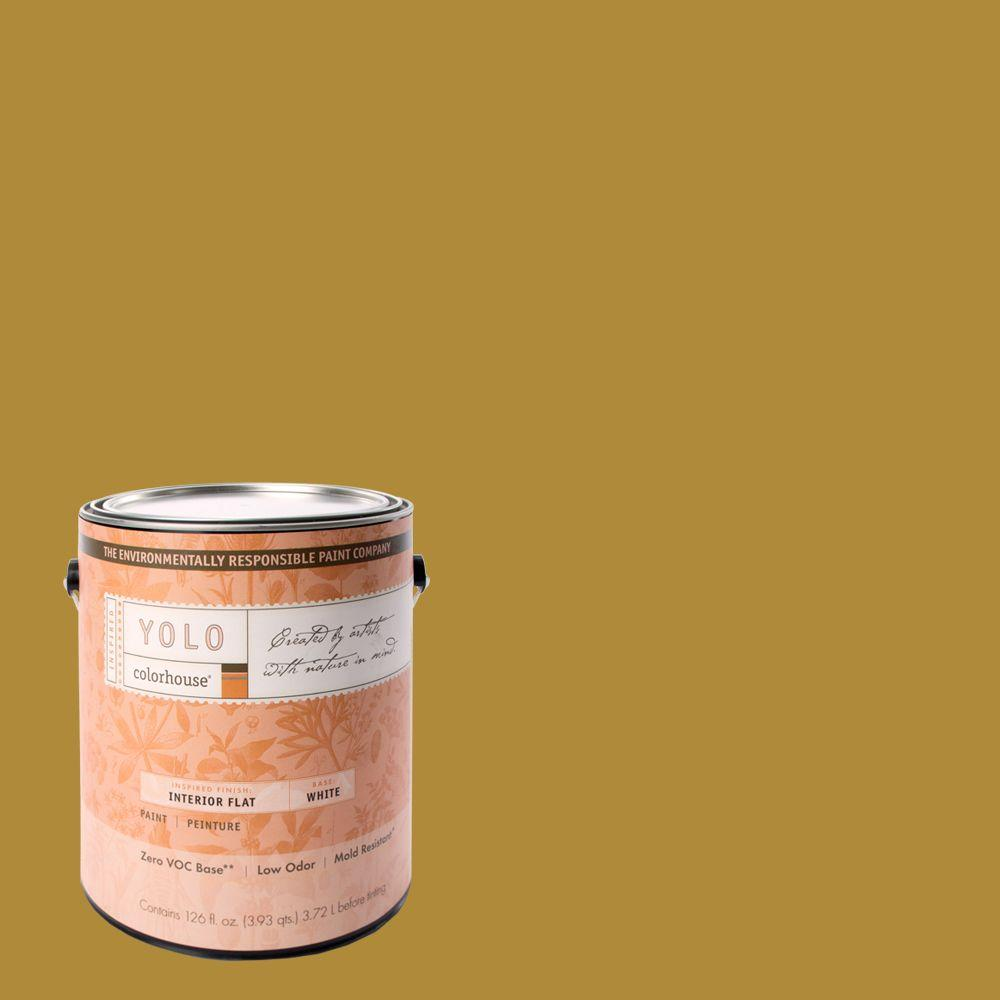 YOLO Colorhouse 1-gal. Grain .07 Flat Interior Paint-DISCONTINUED