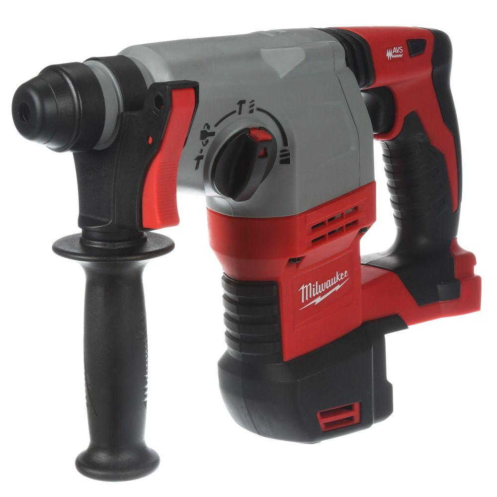 Milwaukee 18-Volt M18 Lithium-Ion 7/8 in. Cordless SDS-Plus Rotary Hammer (Tool-Only)