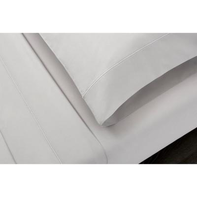 Supima Solid 600-Thread Count Cotton Sateen Sheet Set