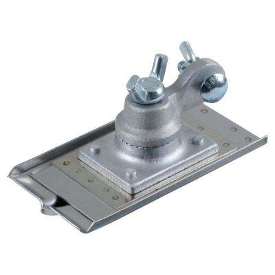 3 in. x 6 in. 1/2 D Stainless Steel Universal Walking Groover