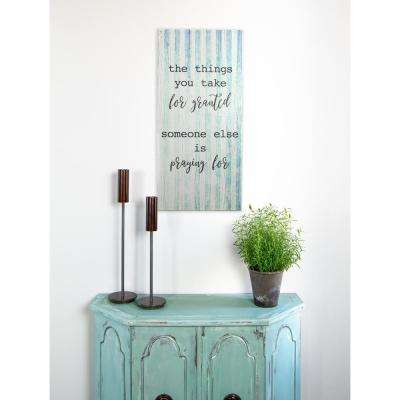 "15 in. W x 32 in. H ""Praying"" by KDM Printed Wall Art"